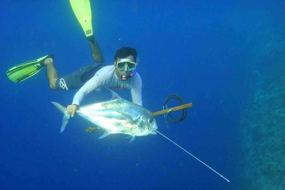 Spearfishing Bali| Mario Spearfishing Bali, Indonesia